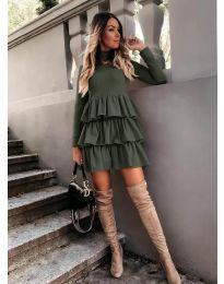 Obleka - koda 2951 - olivna