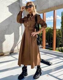 Obleka - koda 1467 - rjava