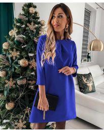 Obleka - koda 1042 - modra