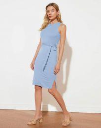 Obleka - koda 12950 - svetlo modra