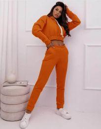 Športni komplet - koda 11623 - oranžna