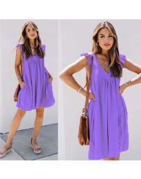 Obleka - koda 5090 - vijolična