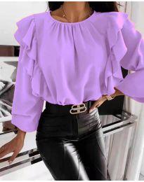 Bluza - koda 4445 - vijolična
