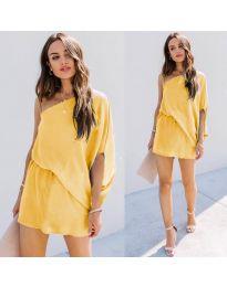 Obleka - koda 9933 - rumena