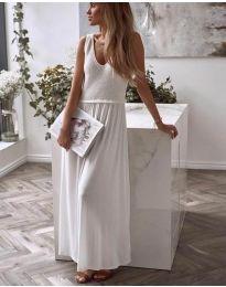 Obleka - koda 5261 - 2 - bela