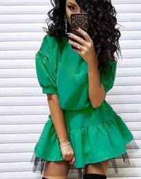 Obleka - koda 2856 - zelena
