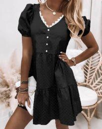Obleka - koda 8292 - črna