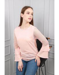 Bluza - koda 0643 - 3 - roza