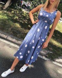 Obleka - koda 8122 - 2 - modra