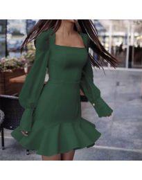 Obleka - koda 3605 - olivna