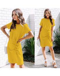 Obleka - koda 835 - rumena