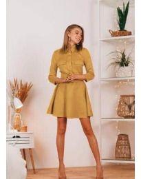 Obleka - koda 6619 - gorčica
