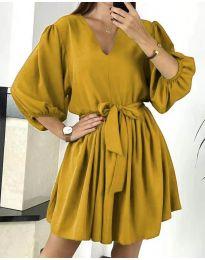 Obleka - koda 6210 - gorčica