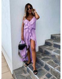 Obleka - koda 0081 - vijolična