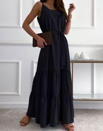 Obleka - koda 2578 - črna