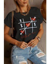 Majica - koda 2120 - črna