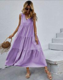 Obleka - koda 8149 - vijolična