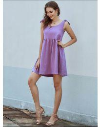 Obleka - koda 2255 - vijolična