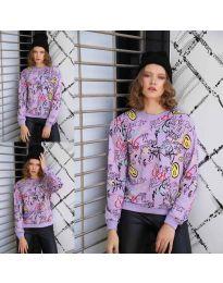 Bluza - koda 1471 - 1 - vijolična