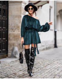 Obleka - koda 324 - тъмно зелен