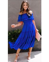 Obleka - koda 699 - temno modra