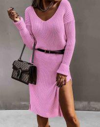 Obleka - koda 6829 - vijolična