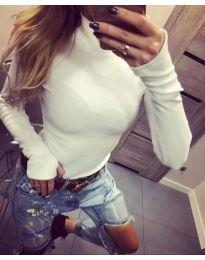 Bluza - koda 5256 - bela