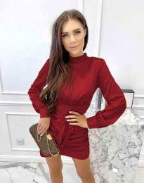 Obleka - koda 0233 - temno rdeča