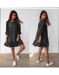 Obleka - koda 784 - črna