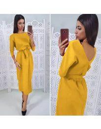 Obleka - koda 974 - gorčica