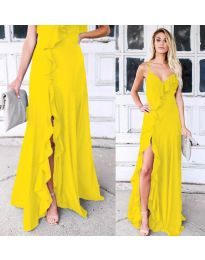 Obleka - koda 4488 - rumena