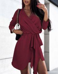 Obleka - koda 2879 - bordo