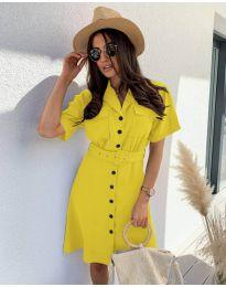 Obleka - koda 742 - rumena