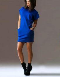 Obleka - koda 1585 - 3 - modra