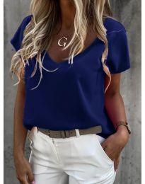 Majica - koda 0589 - temno modra