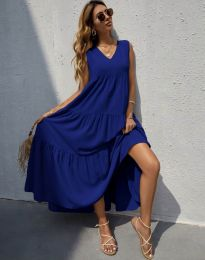 Obleka - koda 8149 - temno modra
