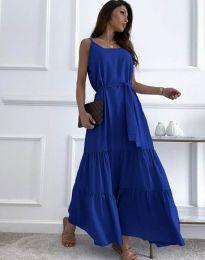 Obleka - koda 2578 - temno modra