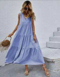 Obleka - koda 8149 - svetlo modra