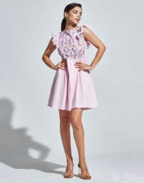 Obleka - koda 1482 - 1 - roza
