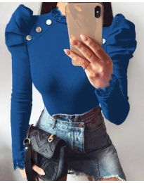 Bluza - koda 9630 - 4 - modra