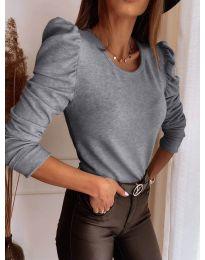 Bluza - koda 9556 - siva