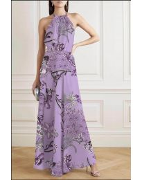 Obleka - koda 2268 - vijolična