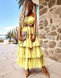 Obleka - koda 1543 - rumena
