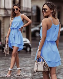 Obleka - koda 2104 - svetlo modra