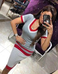Obleka - koda 9075 - siva