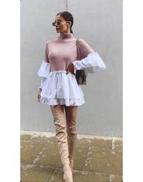 Obleka - koda 1188 - roza