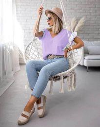 Bluza - koda 2922 - vijolična