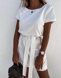 Obleka - koda 6737 - bela