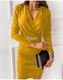 Obleka - koda 8999 - rumena