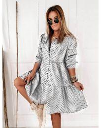 Obleka - koda 5557 - bela